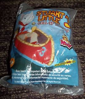Stuart Little 3 Call of The Wild Wendys Kids Meal Skunk Plush Toy