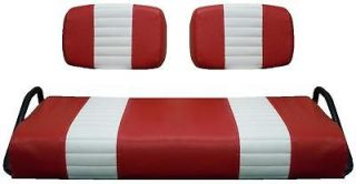Club Car Pre 2000 Golf Cart Custom Seat Cover  STAPLE ON