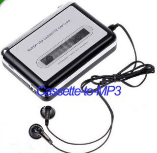 Tape to PC Super Portable Player USB Cassette to  Converter Capture