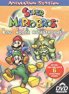 Super Mario Bros. King Koopa Katastrophe DVD, 2003