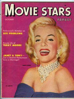 MOVIE STARS PARADE Marilyn Monroe 1953 magazine