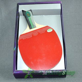 729 3 star Ping Pong Paddle Table Tennis Racket Short handle