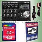 Tascam DP 004 Pocket Studio Package Recorder DP004 Bundle Extended