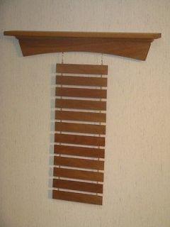 Walnut Martial Arts Shelf Belt Display Rack, Karate, Tae Kwon Do