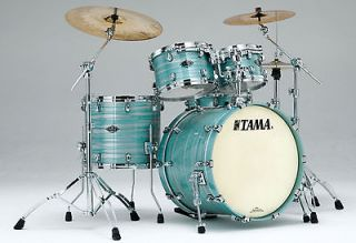 Tama drums sets Starclassic B/B LACQUERED AZURE OYSTER Birch Bubinga