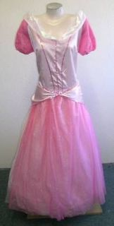 NEW  SLEEPING BEAUTY Princess ADULT DRESS L XXL HALLOWEEN