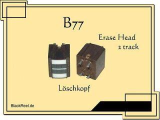 Revox B77 B 77 B 77 2 track erase head Reel to Reel Tape Recorder
