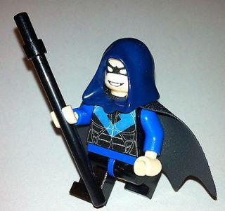 HOT !! NEWEST !! Custom Lego Batman red NIGHTWING hood batman theme