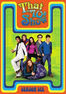 That 70s Show   Season 6 DVD, 2007, 4 Disc Set
