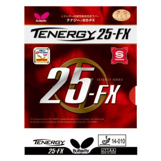 Butterfly Tenergy 25 FX 25 FX rubber Table tennis Blade
