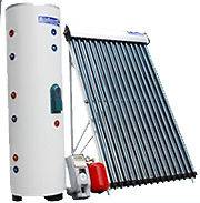 500 Liter 60 Vacuum Tube Solar Water Heater System Electric Backup