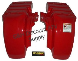 Honda Atc 250ES 250 Big Red Maier Rear Fenders Set NEW!