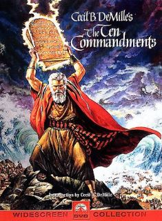 The Ten Commandments DVD, 1999, 2 Disc Set