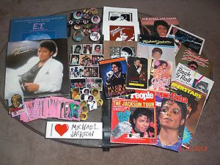 Michael Jackson memorabilia in Music Memorabilia