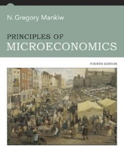 principles of microeconomics mankiw in Textbooks, Education