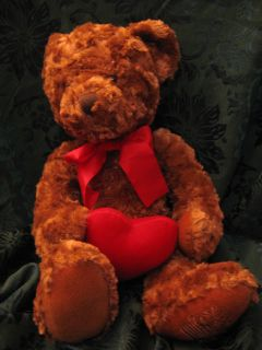 Russ Teddy Bear CUDDLEBERRY Edible Arrangements Red Heart Valentines
