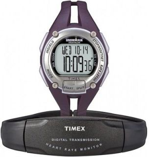 Timex Ironman Road Trainer Heart Rate Monitor Watch ,100 Meter WR