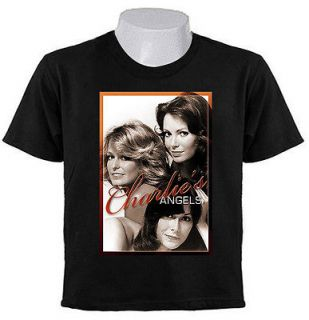 CHARLIE ANGELS T SHIRTS sepia TV Series 1976–1981
