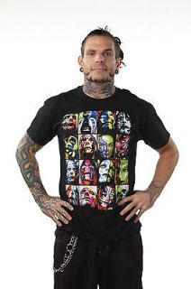 Official TNA Impact Wrestling Jeff Hardy Faces T Shirt