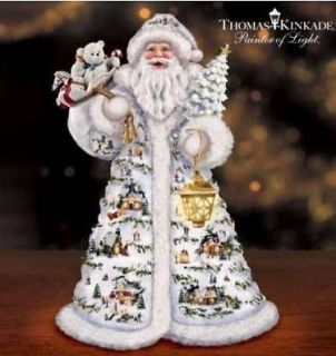 THOMAS KINKADE *FATHER CHRISTMAS SANTA* FREE S/H, NIB