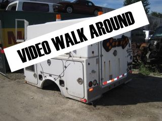 SERVICE BODY,WALK IN FROM DUALLY 2WD CABLE SERVICE TRUCK TOOL BOXES