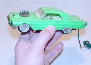 HK 130 FORD THUNDERBIRD HARD TOP 64 DRAGSTER RC Op. Car NM`65 RARE