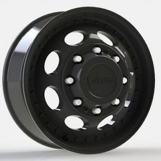 19.5 Black Ford Chevy Dodge Gmc Dually Wheels Tires