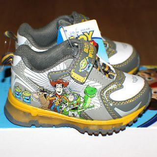Boys Disney Pixar TOY STORY3 Sneakers LIGHTED Kicks Shoes New WT$45