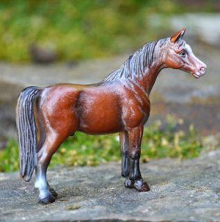 Schleich Germany 4 Tall Model Brown/Black Stallion Horse Figurine Toy
