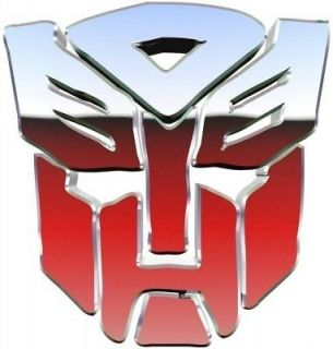 TRANSFORMERS AUTOBOT LOGO IRON ON T SHIRT TRANSFER