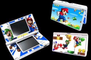 Super Mario Bro Vinyl Decal Skin Sticker Cover for Nintendo DS Lite