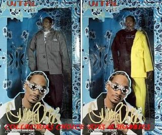 VITAL TOYS SNOOP DOGG SET OF 2 ACTION FIGURES DOLL