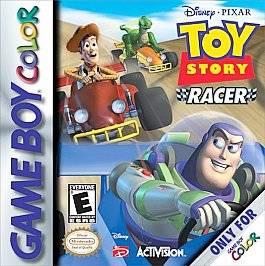 Toy Story Racer Nintendo Game Boy Color, 2001