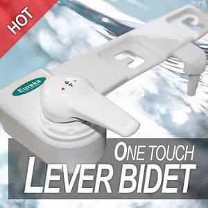 EB 1500W Non electric KOREA BIDET Toilet Seat attach Washlet Sprayer