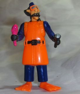 Burger King BK Kid Meal Scuba Inspector Gadget Toy PVC Action Figure