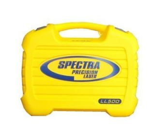Spectra Precision Laser LL500 Case NEW 14795