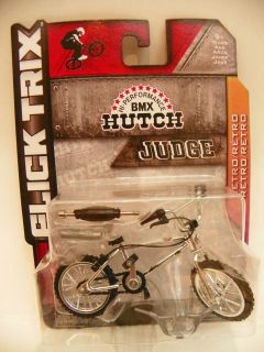 Flick Trix Trick Star CHROME RARE BMX Hutch Bike New in Package