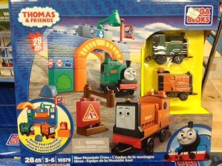 Thomas & Friends 10579 BLUE MOUNTAIN CREW PETER SAM & RUSTY 2012 SET