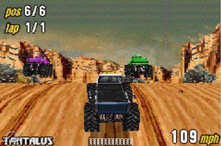 Monster Truck Madness Nintendo Game Boy Advance, 2003