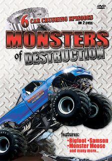 Monster Of Destruction Monster Trucks DVD, 2008, 2 Disc Set