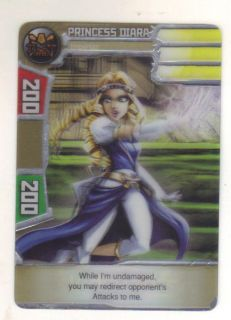 Redakai Princess Diara Conquer The Kairu 1008 Rare Card Redakai Never