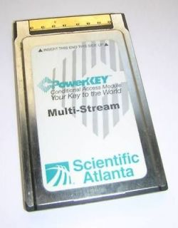 Scientific Atlanta PowerKey Multi Stream CableCARD M Card PKM802