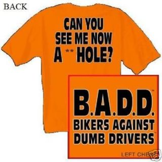 CAN YOU SEE ME NOW A**HOLE T shirt Biker Chopper 2X