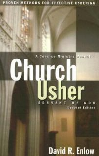 Church Usher Servant of God by David R. Enlow 2006, Paperback