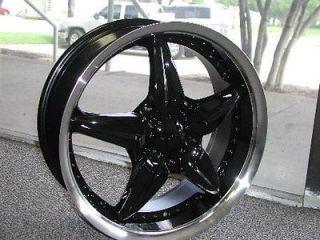 17 Black DIP Wheels Rims Impala, Lumina, Malibu, Monte Carlo, Equinox