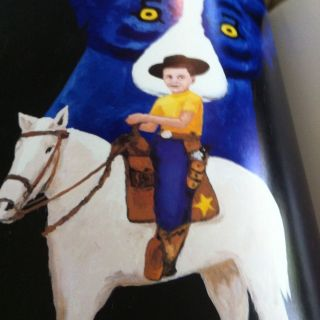 Blue Dog Man by George Rodrigue (1999) Frist Printing