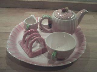 ART DECO BRENTLEIGH WARE BREAKFAST TEA FOR ONE SET