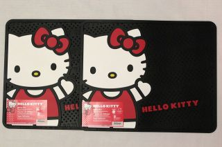 Hello Kitty 2 Rear Car Floor Mats   RIBBON