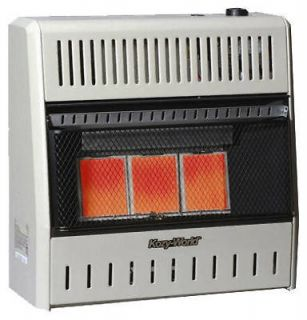 Kozy World 3 Plaque Infrared 15,000 BTU LP Propane Wall Heater