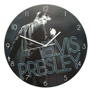 ELVIS PRESLEY 13.5 Cordless Wall Clock NEW Ships in 24 Hours for